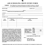 ADS_Show_Entry_Form