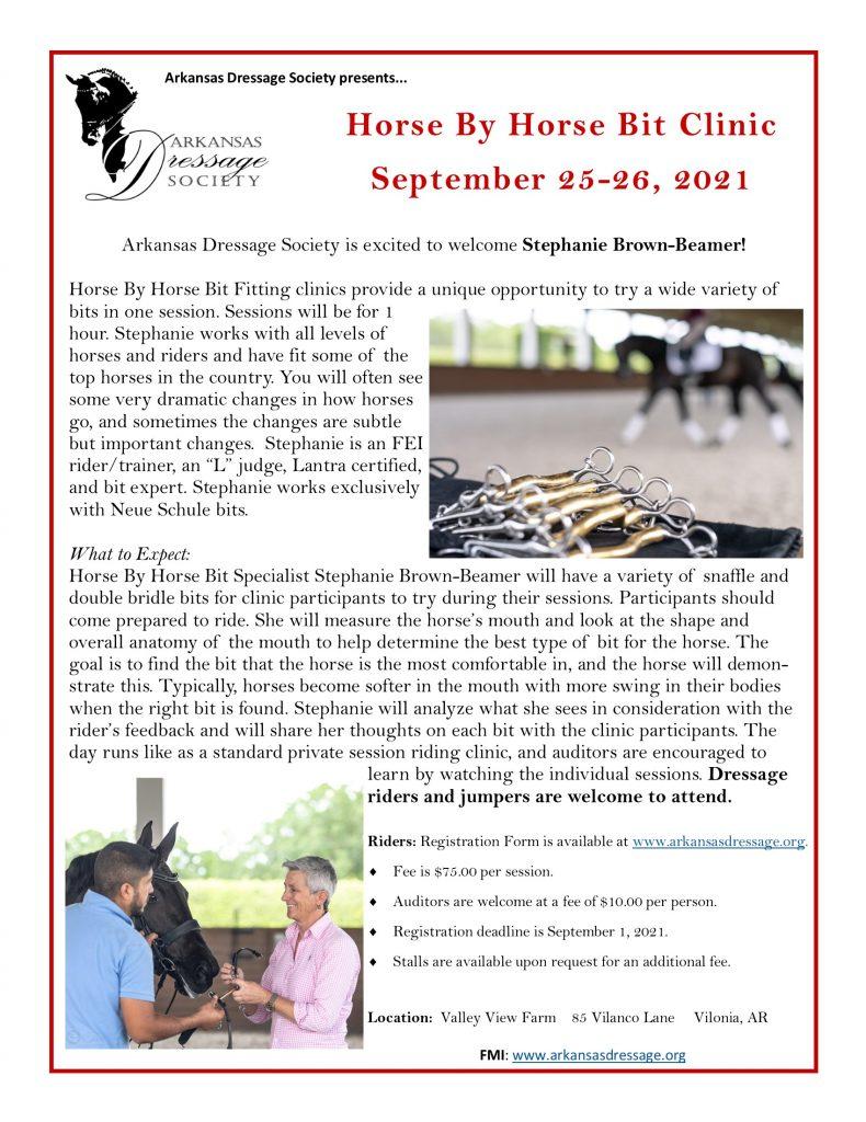 horsebyhorse_bit_clinic_flyer